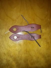 2 piece slobber straps